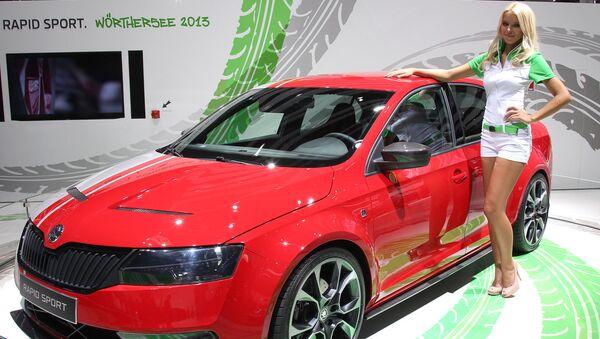 Автомобиль Skoda Rapid Sport. Архивное фото