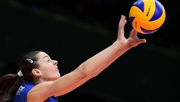 Игрок сборной России Яна Щербань на XXXI летних Олимпийских играх.