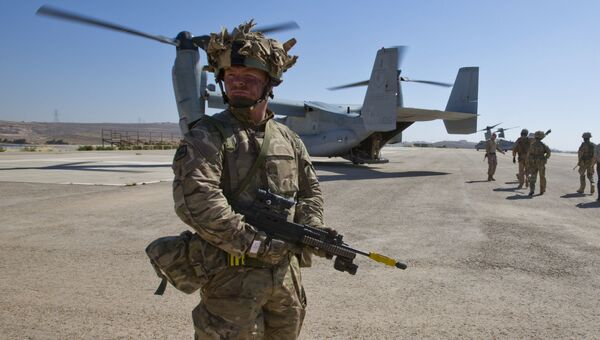 Солдат британского спецназа. Архивное фото