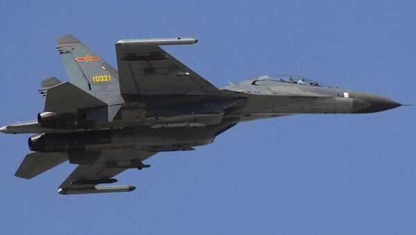 Су-27 китайских ВВС. Архивное фото
