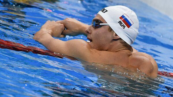 Российский пловец Владимир Морозов на XXXI летних Олимпийских играх
