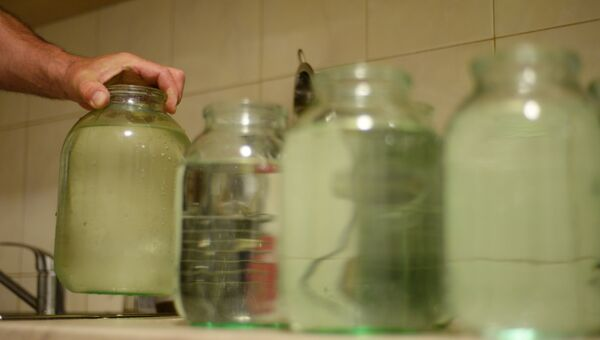 Отключение воды. Архивное фото