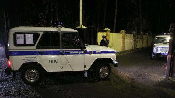 Сотрудники правоохранительных органов в Подмосковье