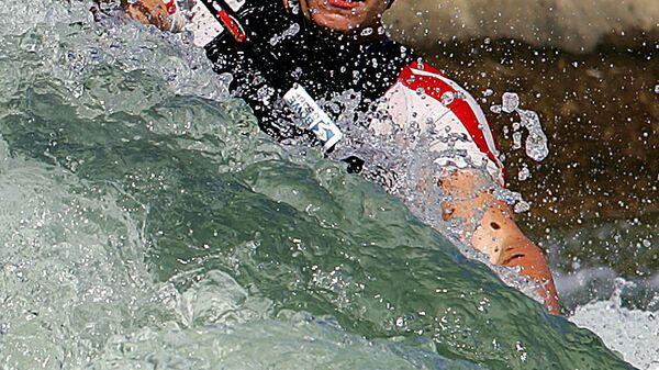 Cеребряный призер Олимпиады в Афинах в гребном слаломе на каноэ Штефан Хенце