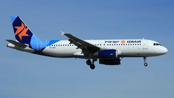 Самолет Airbus A320 израильской авиакомпании Israir
