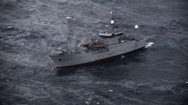 Корабль береговой охраны Норвегии