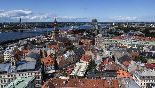 Центральная часть города Рига, Латвия. Архивное фото