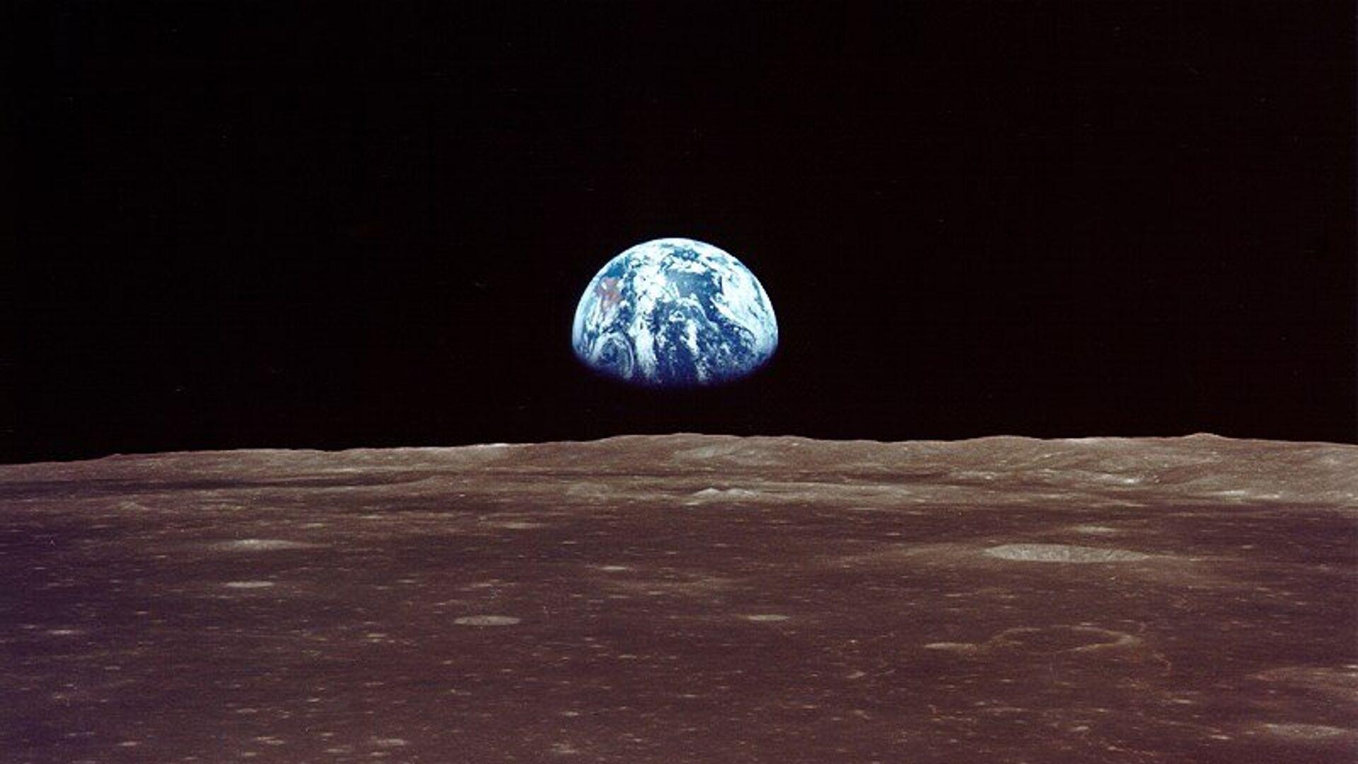 Вид на Землю с Луны - РИА Новости, 1920, 20.01.2021
