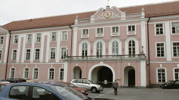 Здание эстонского парламента в Таллине