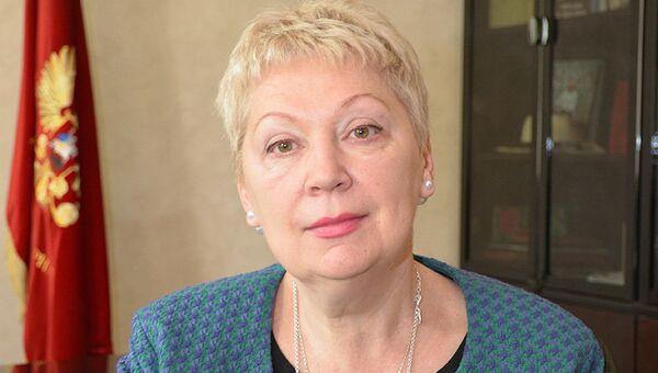 Министр образования РФ, доктор исторических наук, профессор Ольга Васильева