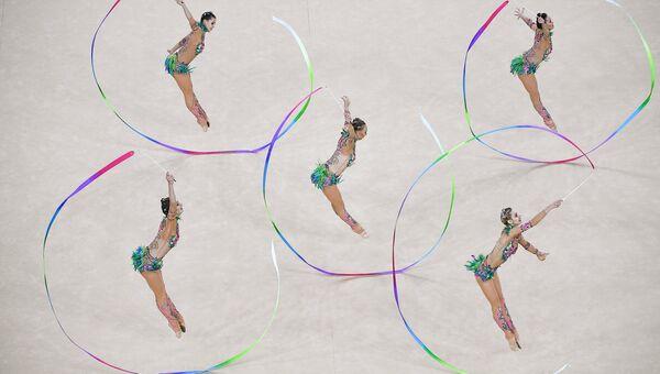 Олимпиада 2016. Художественная гимнастика. Группы. Финал