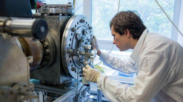 В лаборатории МИФИ