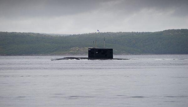 Дизель-электрическая подводная лодка. Архивное фото