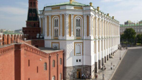 Оружейная палата Московского Кремля. Архивное фото
