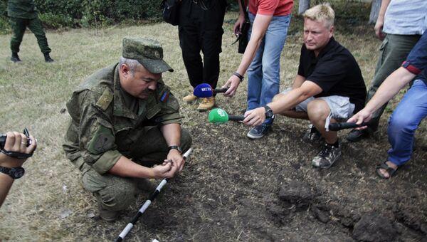 Начальник штаба оперативного командования ДНР Руслан Якубов. Архивное фото
