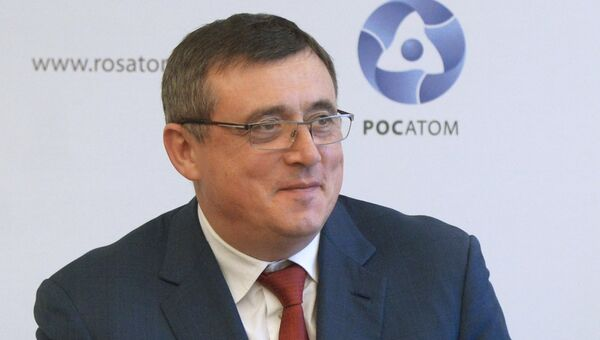 Генеральный директор российской объединенной инжиниринговой компании ОАО НИАЭП — ЗАО Атомстройэкспорт Валерий Лимаренко