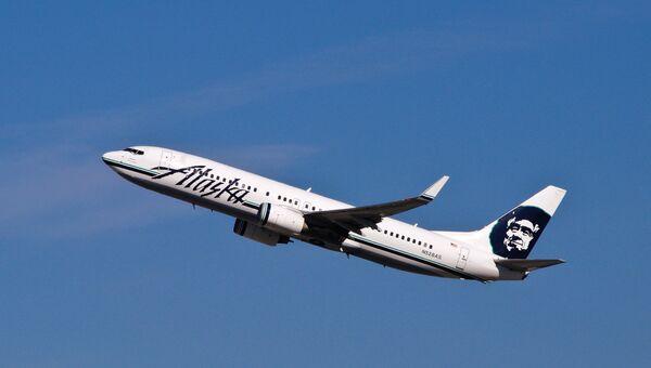 Самолет авиакомпании Alaska Airlines. Архивное фото
