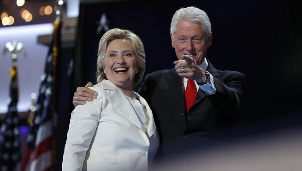 Хиллари и Билл Клинтон. Архивное фото.