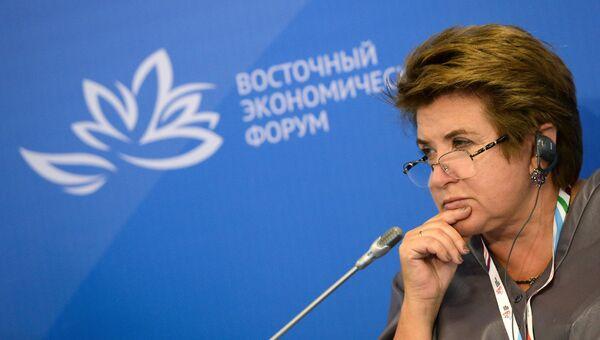 Руководитель Россотрудничества Любовь Глебова. Архивное фото