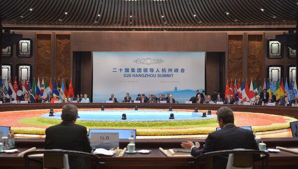Заседании глав делегаций государств-участников Группы двадцати. Архивное фото