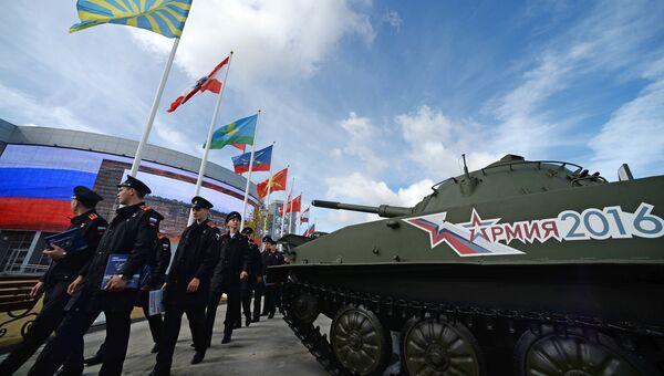 На Международном военно-техническом форуме АРМИЯ-2016