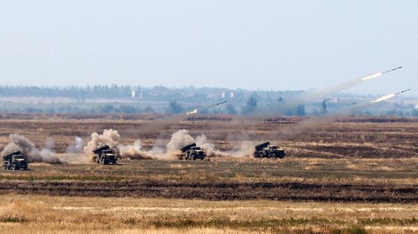 СКШУ Кавказ-2016 на полигоне Прудбой в Волгоградской области