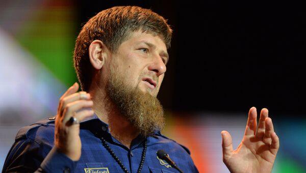 Рамзан Кадыров на праздновании Дня единства и согласия в Чеченской Республике