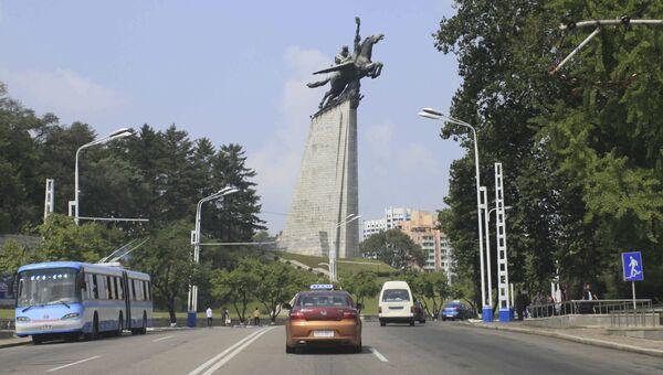 Столица Северной Кореи Пхеньян. Архивное фото