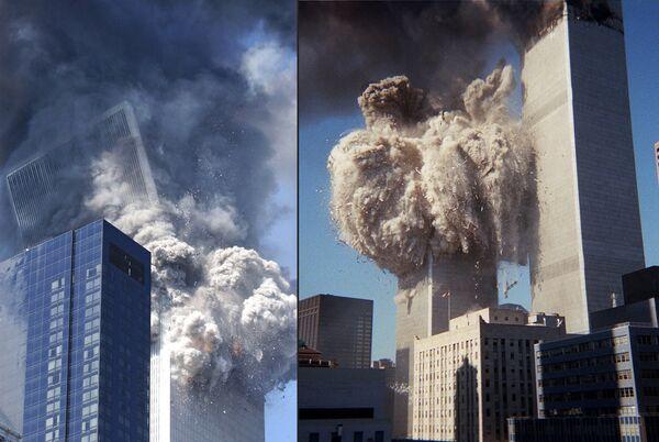 Нью-Йорк, 11 сентября 2001 года - РИА Новости, 11.09.2016