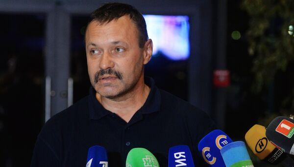 Член белорусской сборной А. Фомочкин, вынесший на открытии Паралимпиады в Рио-де-Жанейро флаг России, прилетел в Минск