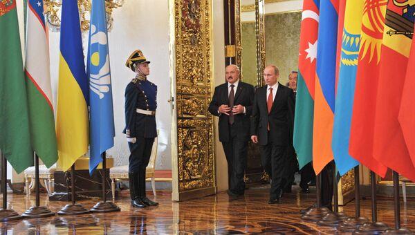 Саммит глав государств СНГ в Кремле. Архивное фото