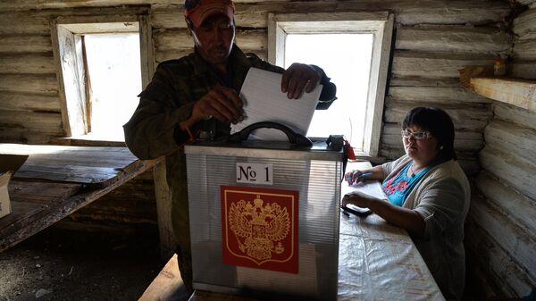Досрочное голосование в Республике Алтай