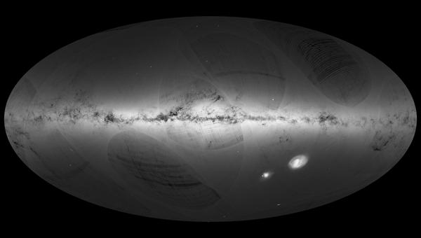 Первый каталог, включающий более миллиарда звезд Млечного пути