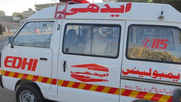 Карета скорой помощи в Пакистане
