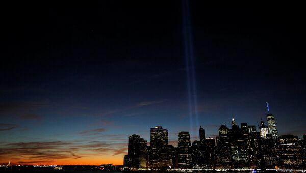 15-я годовщина терактов 11 сентября в Нью-Йорке