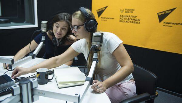 Sputnik открыл самый технологичный редакционный центр в Кыргызстане