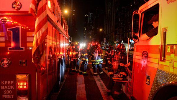 Спасательные службы Нью-Йорка. 18 сентября 2016