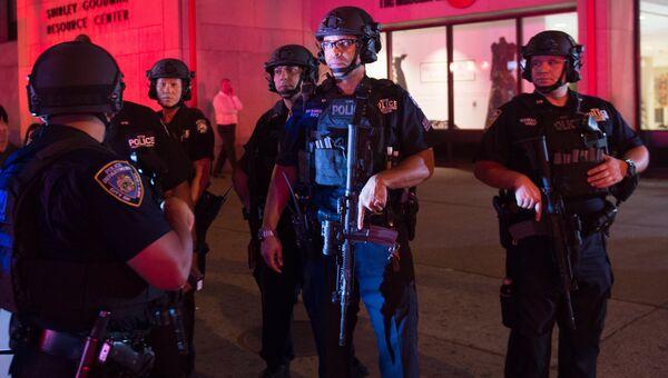 Сотрудники полиции в Нью-Йорке. Архивное фото