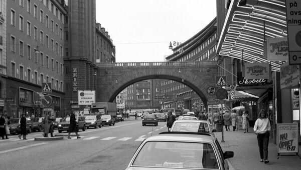Улица Кунгстан в центре Стокгольма