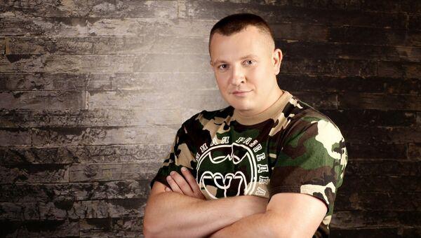 Руководитель украинской общественной организации Оплот Евгений Жилин