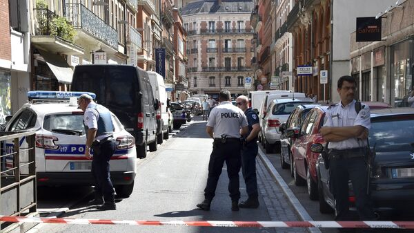 Сотрудники французской полиции в Тулузе. Архивное фото