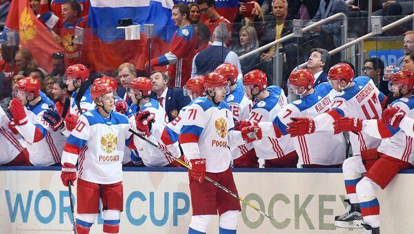 Хоккей. Кубок мира. Матч Канада - Россия