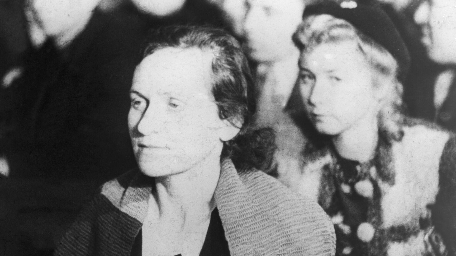 Дина Мироновна Проничева, спасшаяся 29 сентября 1941 года в Бабьем Яру, выступает на судебном процессе над гитлеровскими военными преступниками в Киеве  - РИА Новости, 1920, 28.01.2021