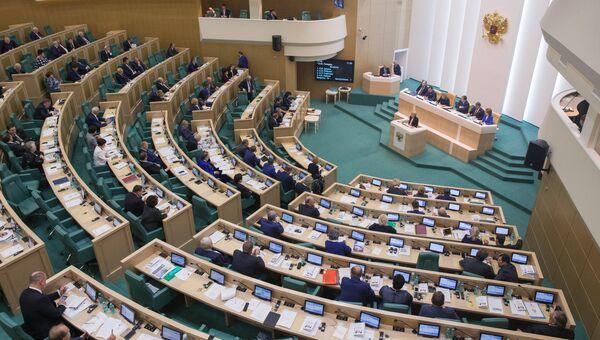 Совет Федерации. Архивное фото