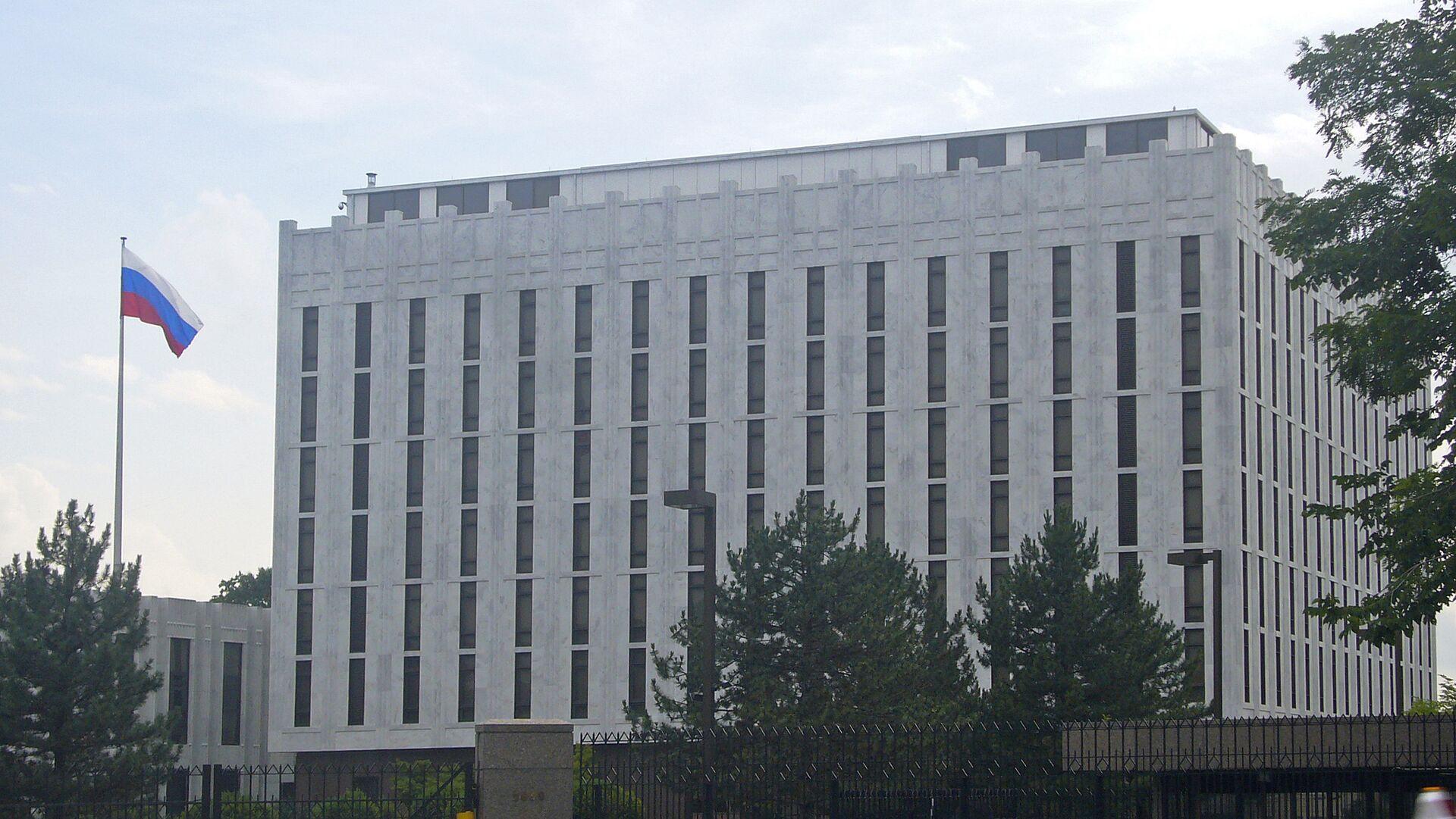 Посольство России в США. Вашингтон - РИА Новости, 1920, 12.09.2020