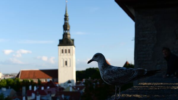 Столица Эстонии Таллин. Архивное фото