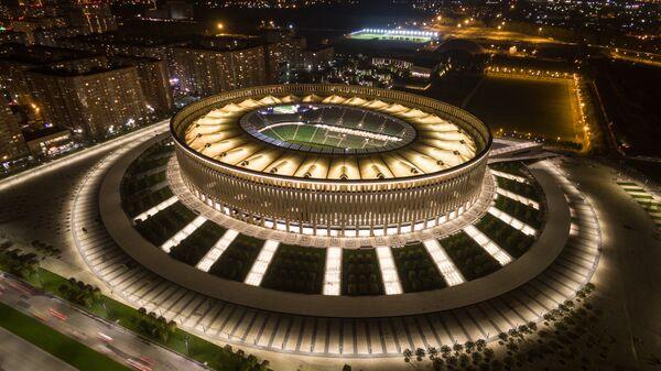 Стадион футбольного клуба Краснодар в городе Краснодар