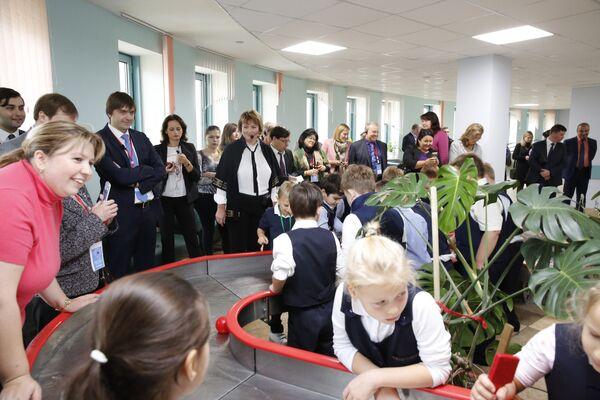 Школа 2030. Водная инсталляция