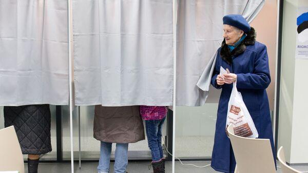 Голосование на парламентских выборах в Эстонии