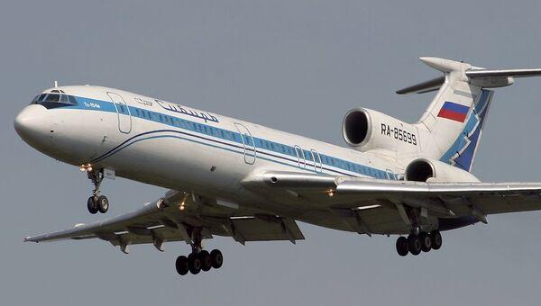 Самолет Ту-154 авиакомпании Сибирь. Архивное фото
